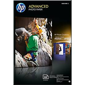 "Fotopapier HP ""Advanced"", glänzend/seidenmatt"