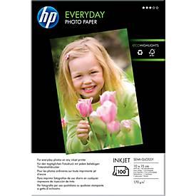 Fotopapier HP Everyday, 10 x 15 cm, 100 vel