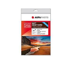 Fotopapier Premium Photo Matt, 50 Blatt, DIN A4, matt beschichtet