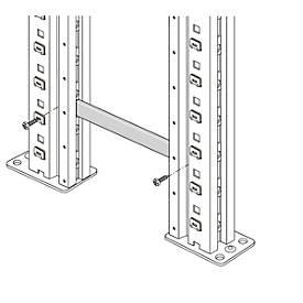 Frameverbinding, voor frameafstand 6 mm