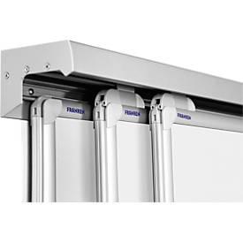 FRANKEN 3-Kanal-Wandschiene Pro-Serie, Aluminium, verschiedene Längen, einzeln