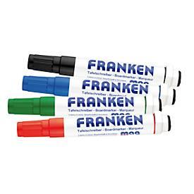 Franken Kombimarker Magwrite Z1703, 4 Stück, farblich sortiert