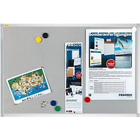 Franken Pinnwandtafel Pin'n'Mag X-tra, Textil, 3 Tafelgrößen, auch magnethaftend
