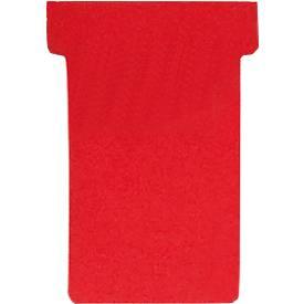 FRANKEN T-Karten, für Stecktafel, Größe 2, rot