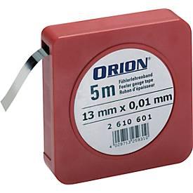 Fühlerlehrenband 0,10 mm D  13 mm x 5m