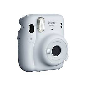 Image of Fujifilm Instax Mini 11 - Sofortbildkamera - Objektiv: 60 mm - instax mini Ice White
