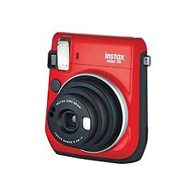 Image of Fujifilm Instax Mini 70 - Sofortbildkamera - Objektiv: 60 mm Rot