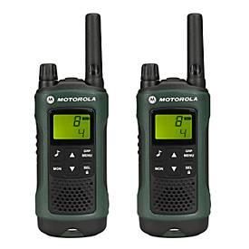 Funkgerät Duo Pack PMR Motorola TLKR T81 Hunter, Reichweite 10 km, wetterfest