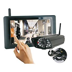 "Funküberwachungsanlage-Set Smartwares CS89T 9"", WIRELESS TOUCH SCREEN"
