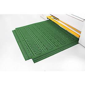 Fußbodenrost Work Deck, grün