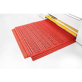 Image of Fußbodenrost Work Deck, 600 x 1200 mm, orange