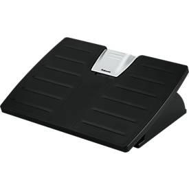 Fußstütze Fellowes Office Suites™ Microban®, höhenverstellbar 3-fach, rechteckig