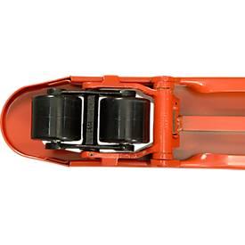 Gabelhubwagen, Lifter, PU/PU, ohne Quick-Lift, Tandem, 800 mm