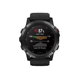 Garmin fenix 5X Plus Sapphire - Uhr unterstützt GPS, GLONASS und Galileo
