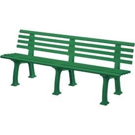 Gartenbank aus Kunststoff, 4-Sitzer