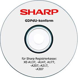 GDPdU Konvertierungs-Software, für Sharp XE-A-Kassenmodelle
