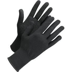 Gebreide handschoenen met studs Worksafe L71-720, CE Cat 1, katoen/Spandex, maat 6-7, zwart, 12 paar.