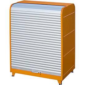 Gefahrstoff-Rollladenschrank, Typ RSG-1, orange RAL2000