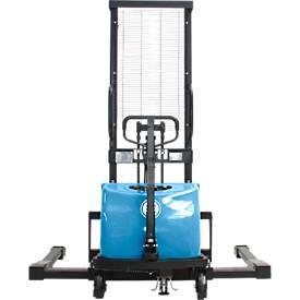 Gerbeur haute levée électrique HanseLifter® à voie large E-SDJ1016BS, levage de 80 à 1600 mm,