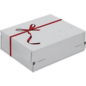 Geschenkbox ColomPac Exclusiv, Selbstklebeverschluss, geeignet für Versand, 10 Stk.