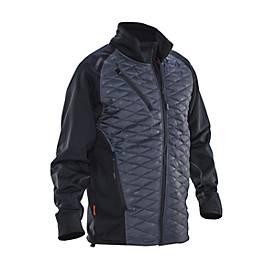 Gevoerde jas grijs/zwart 3XL