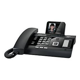 Gigaset DL500A - Schnurlostelefon - Anrufbeantworter mit Rufnummernanzeige/Anklopffunktion