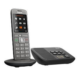 Gigaset Schnurlostelefon CL660A, schnurlos, mit integriertem Anrufbeantworter