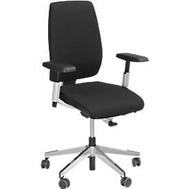 Giroflex Bürostuhl Modell 68, o. Armlehnen, Synchronmechanik, Sitzzeit + 8 Stunden