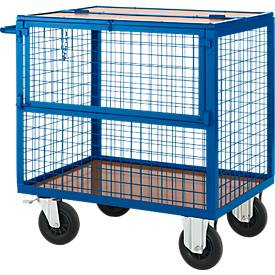 Gitter-Transportwagen