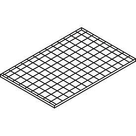 Gitterrost-Ebene, 1200 x 800 mm
