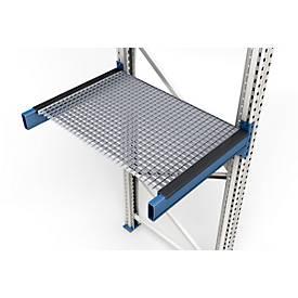 Gitterrost, eingelegt, Rahmentiefe 850 o. 1100 mm, lichte Feldweite 1900 o. 2700 mm