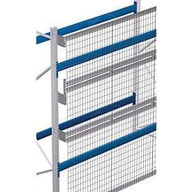 Gitterrückwandset für Rahmenhöhe von 2.500 mm bei einer lichten Feldweite von 1.900 mm für Palettenregal PR 600 - Rahmentiefe 850 mm