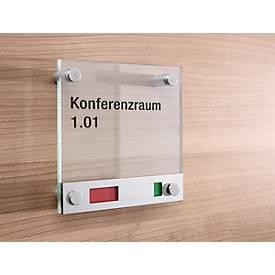 Glasschild Toskana Frei/Besetzt
