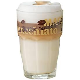 Glazen Latte Macchiato voor warme dranken, set van 6 stuks