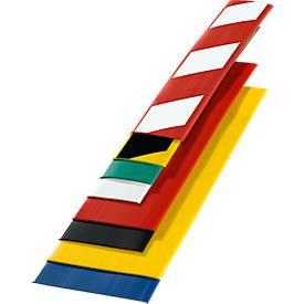 Grond-markeringstape, b 100 mm, l 25 m, geel