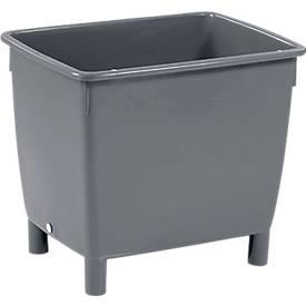 Großbehälter, 210 l, schwarz