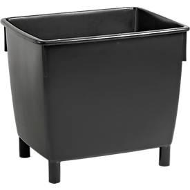 Großbehälter, 400 l, schwarz