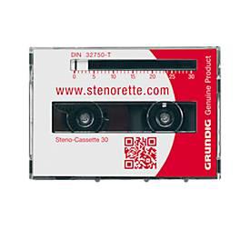 GRUNDIG Steno-Kassetten 30