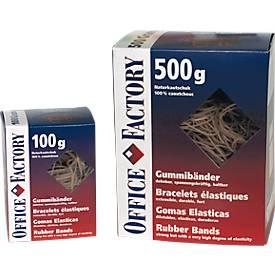 Gummibänder, ø 50 mm, 100 g