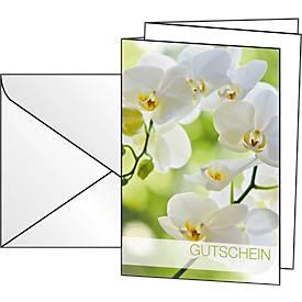 """Gutschein-Karten """"Orchid"""""""