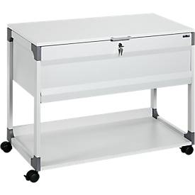 Hängemappenwagen System File Trolley 100 Multi Top, grau