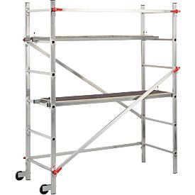 Hailo Aluminium-Gerüst 1-2-3 300, leichter Aufbau, Höhe max. 290 cm