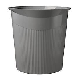 HAN Papierkorb Loop, 13 Liter, modernes Design, dunkelgrau