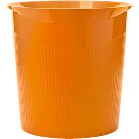 HAN prullenbak Loop, 13 liter, Modern design in Trend Colour, oranje