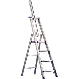 Handlauf für Doppelstufenleiter, 3-6 Stufen
