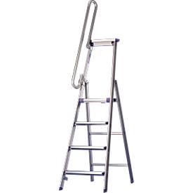 Handlauf für Stufenstehleiter, 3-6 Stufen