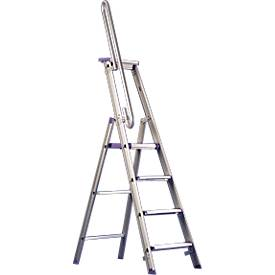 Handlauf für Doppelstufenleiter, 8-12 Stufen
