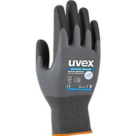 Handschoenen Uvex phynomische allround, polyamide/elastaan, Aqua polymeerlaag, EN 388 (3 1 3 1 3 1), 10 paar, maat 5