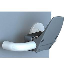 Handvrije deuropener Clean4Health, voor ronde en vierkante grepen met Ø 16-24 mm, polyamide, antraciet
