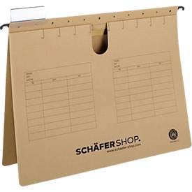 Hängehefter, vertikale Hängeregistratur SCHÄFER SHOP Serie 25-11, versch. Farben
